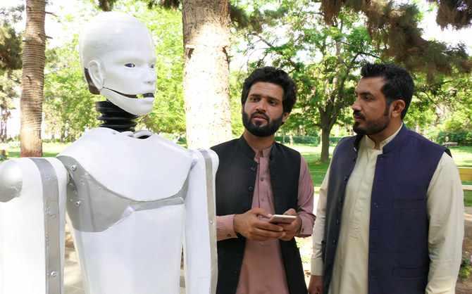 bolani young pakistani humanoid