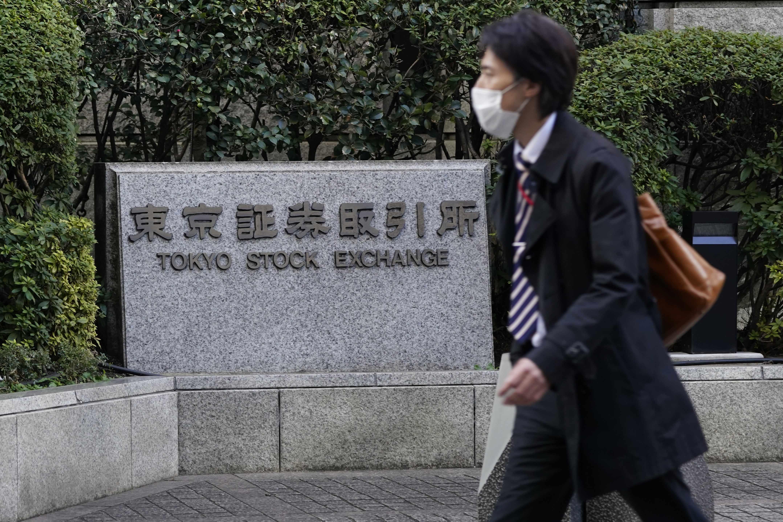 bond stock japan yields shares