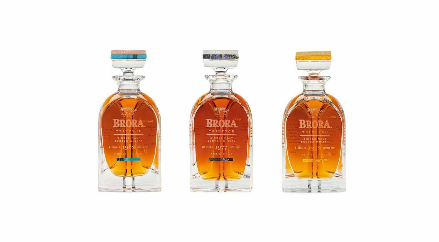 brora triptych diageo collection releases
