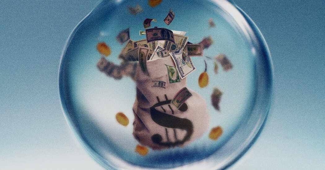 bubble pop economy profitable hoping
