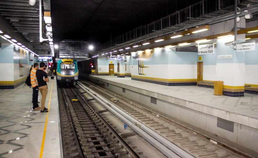 cairo procession station royal metro