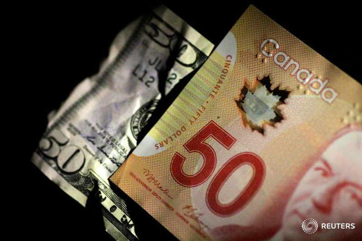 canadian dollar oil infections dips