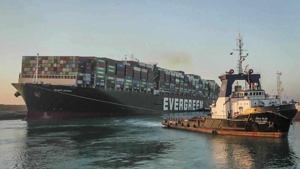 canal port ship suez rotterdam