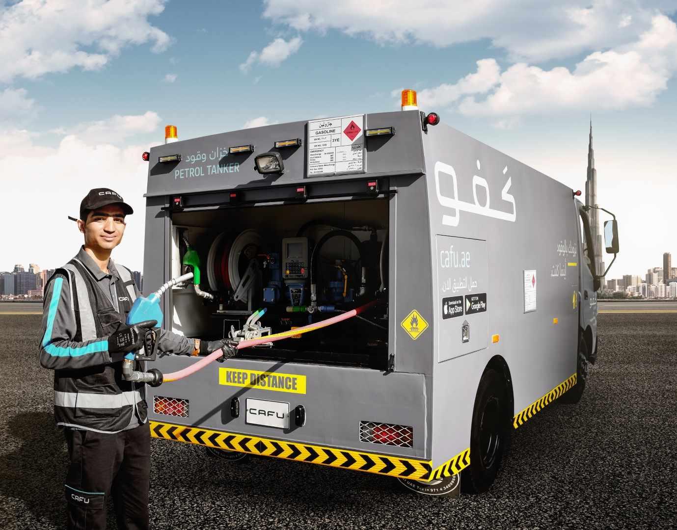 car global refuelling revolution cafu