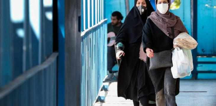 cases covid iran health according