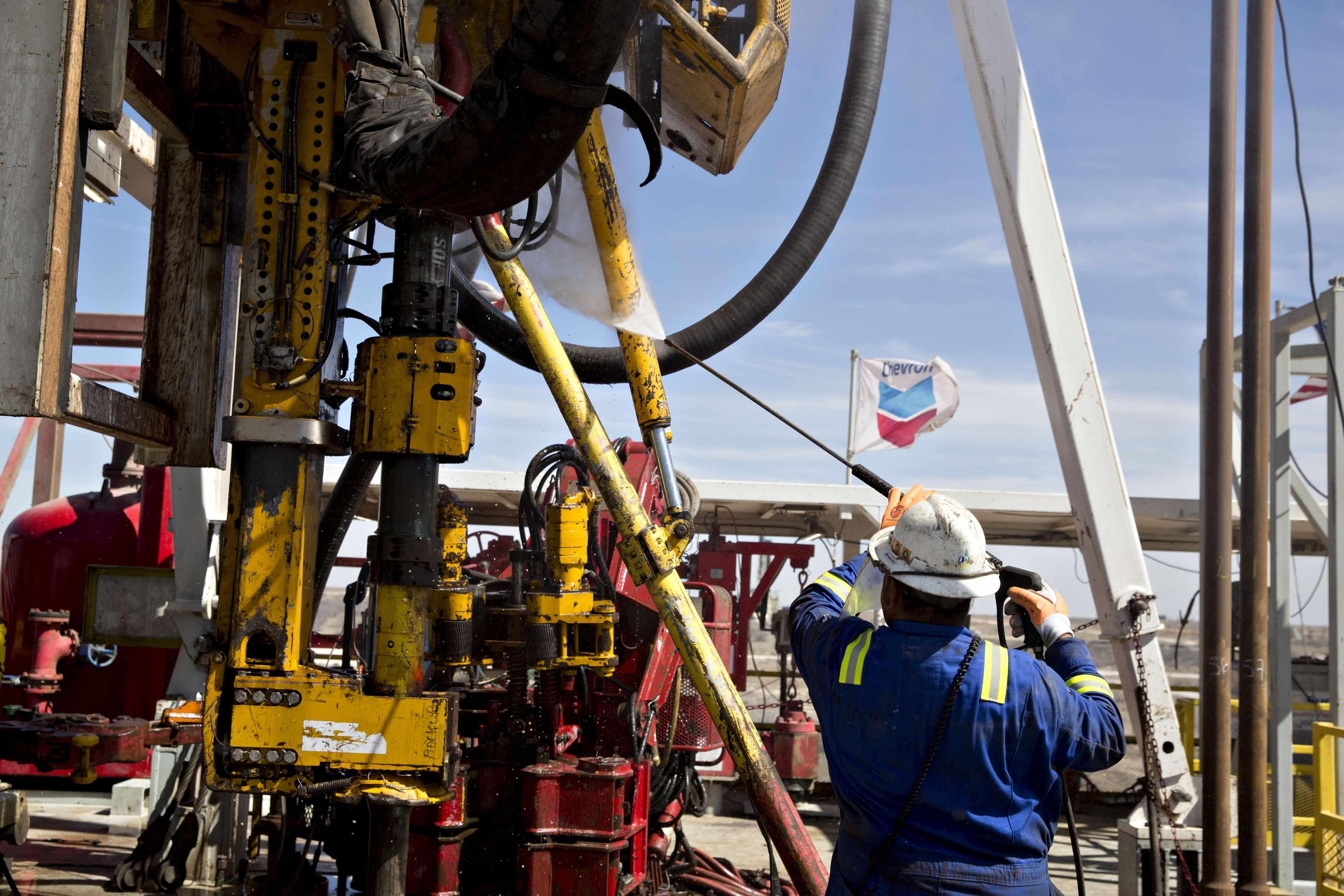 cash flow chevron oil posts