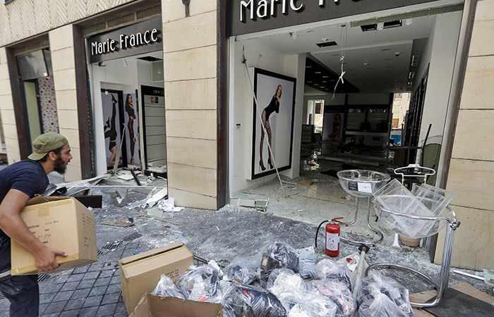lebanon beirut bank banks dollar