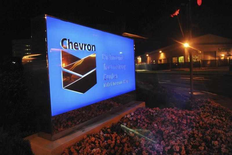 chevron, share, reuters, stampede,