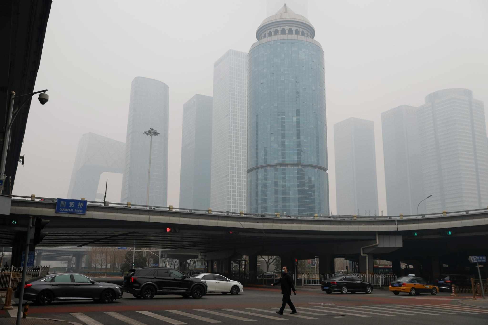 china beijing smog lunar holiday