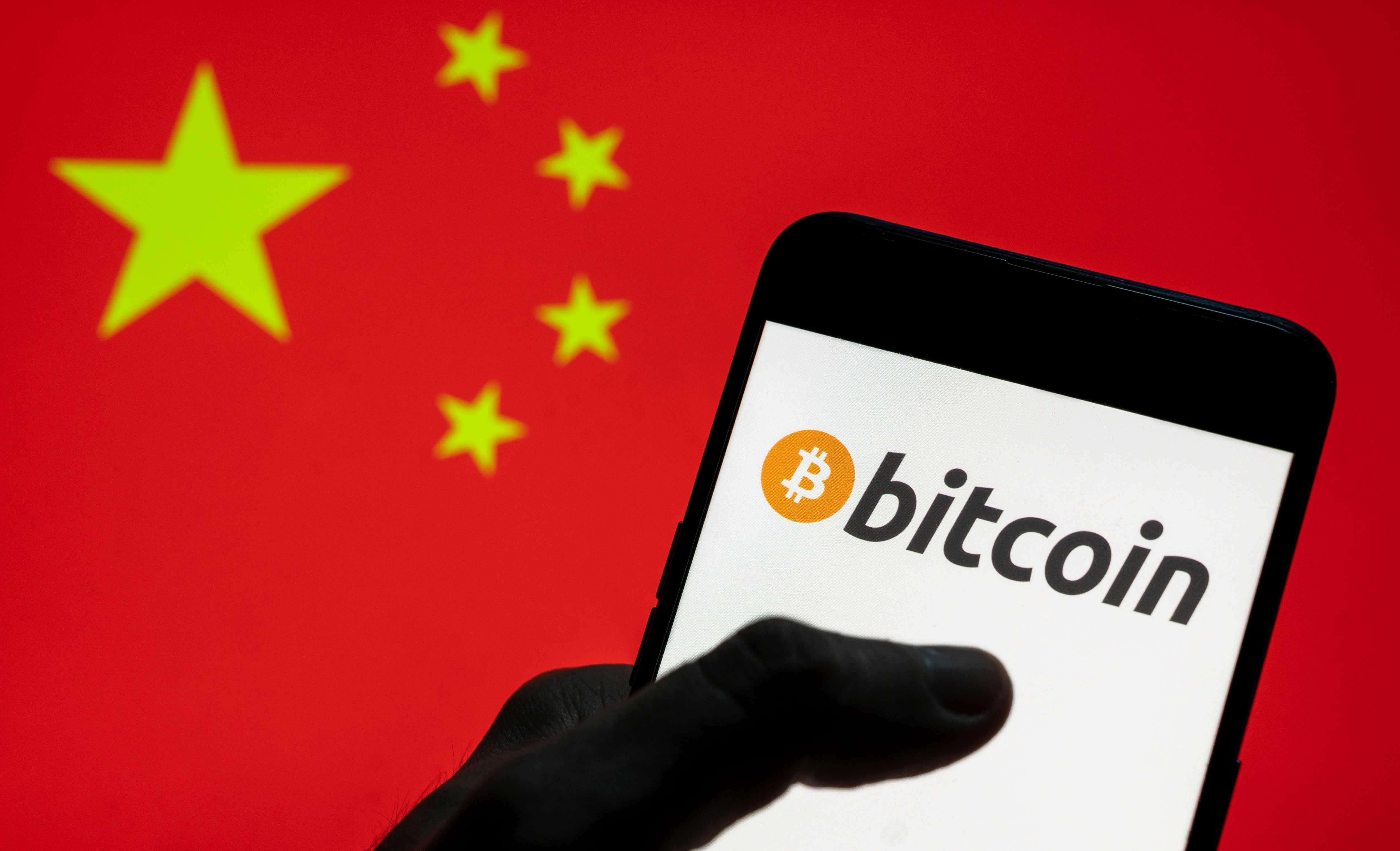 china bitcoin mining trading behavior