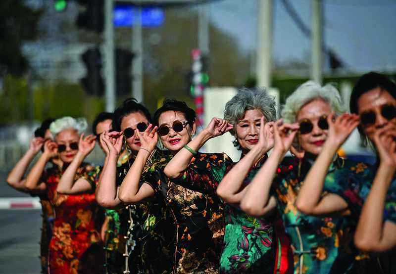 china elderly influencers internet meet