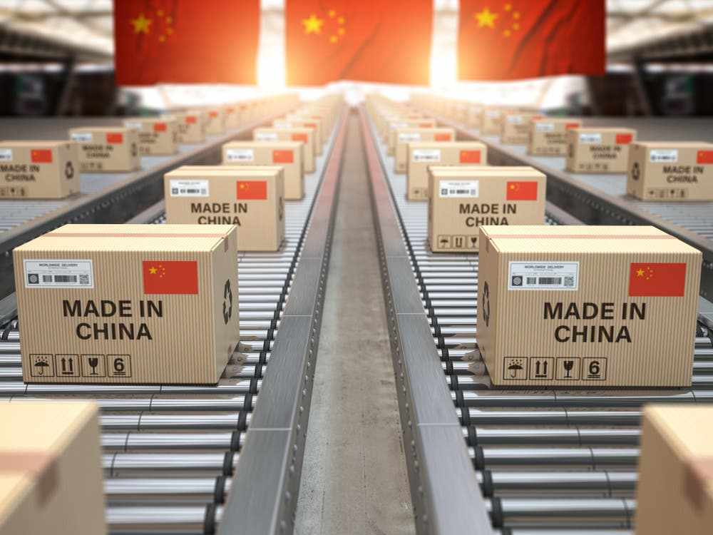 china exports surplus surges goods