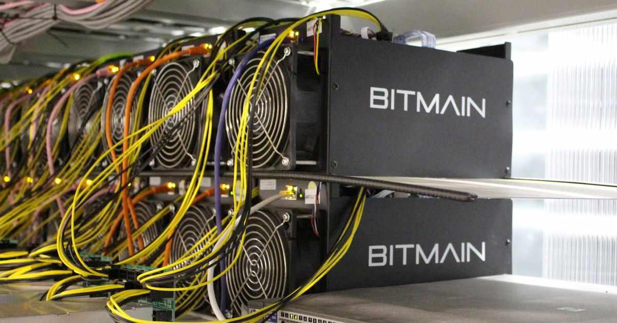 china mining bitmain machines