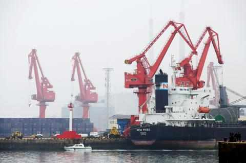 china oil tanker authorities collision