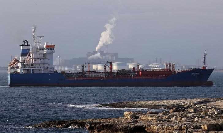 china oil tanker reuters