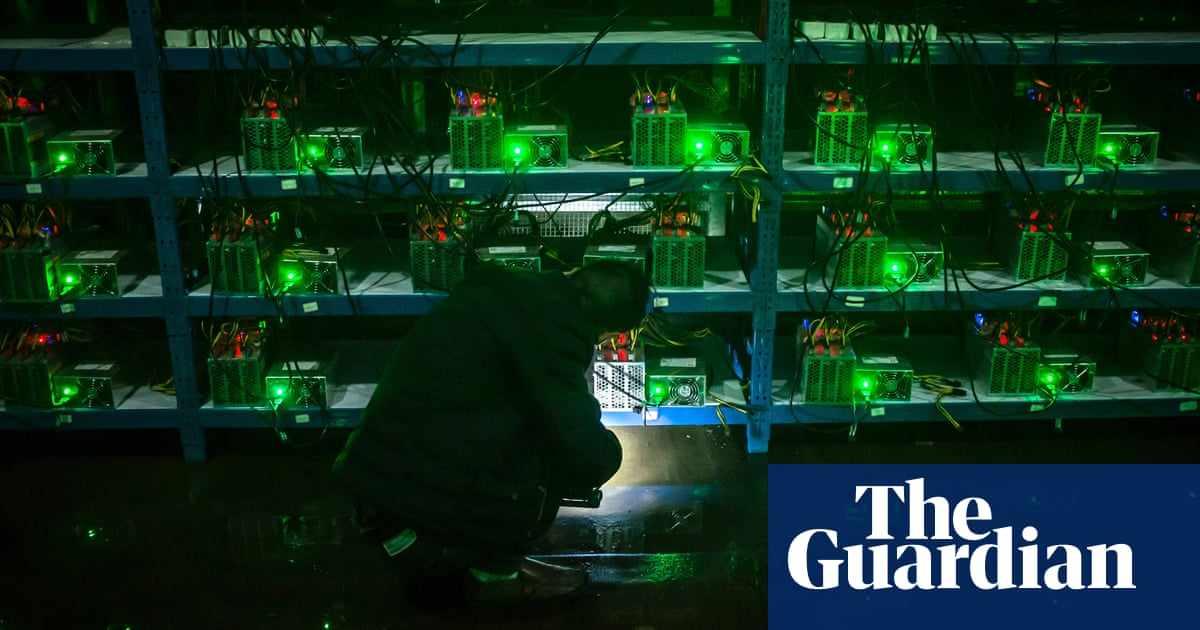 china study climate targets bitcoin