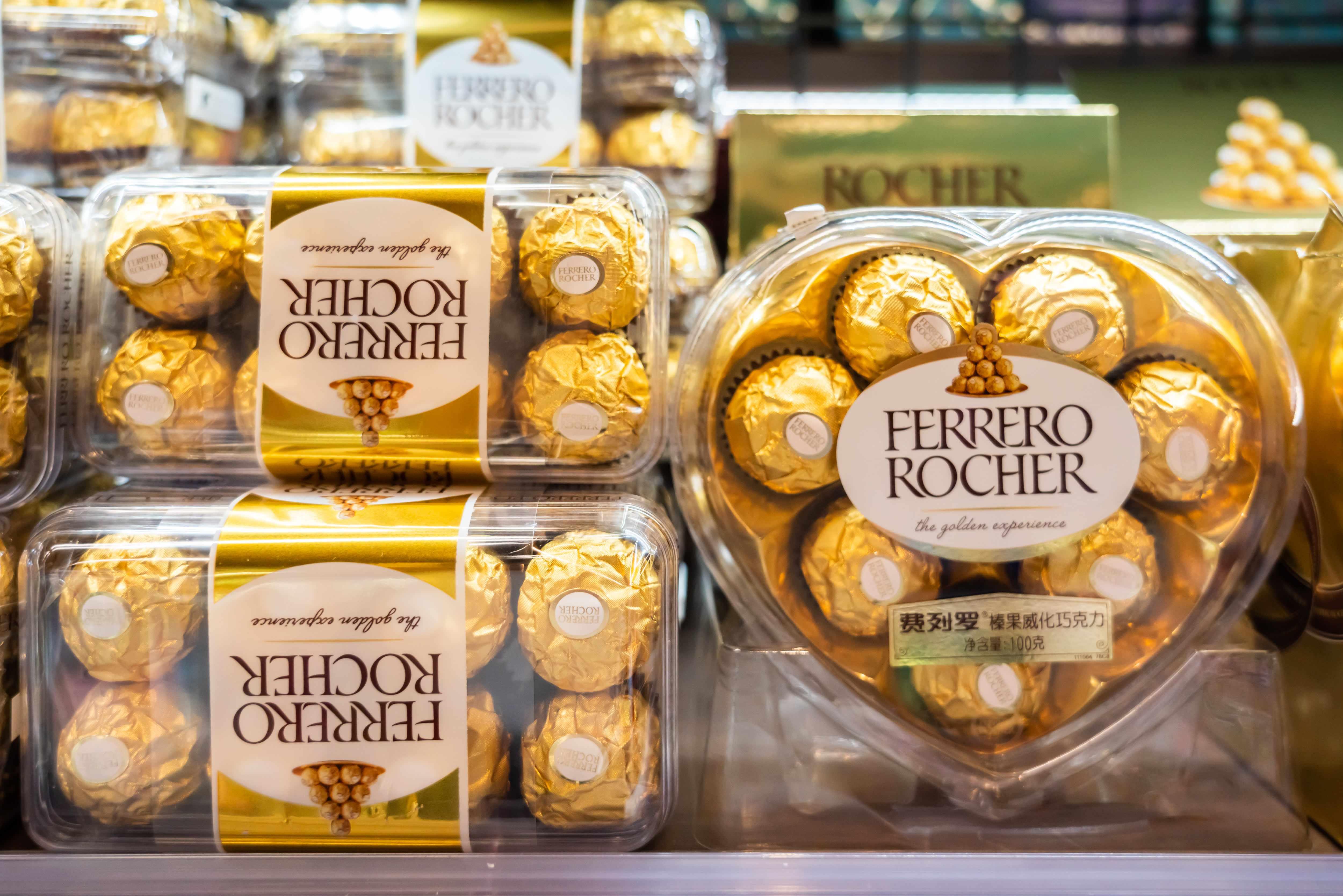 chocolate valentine sales consumers home