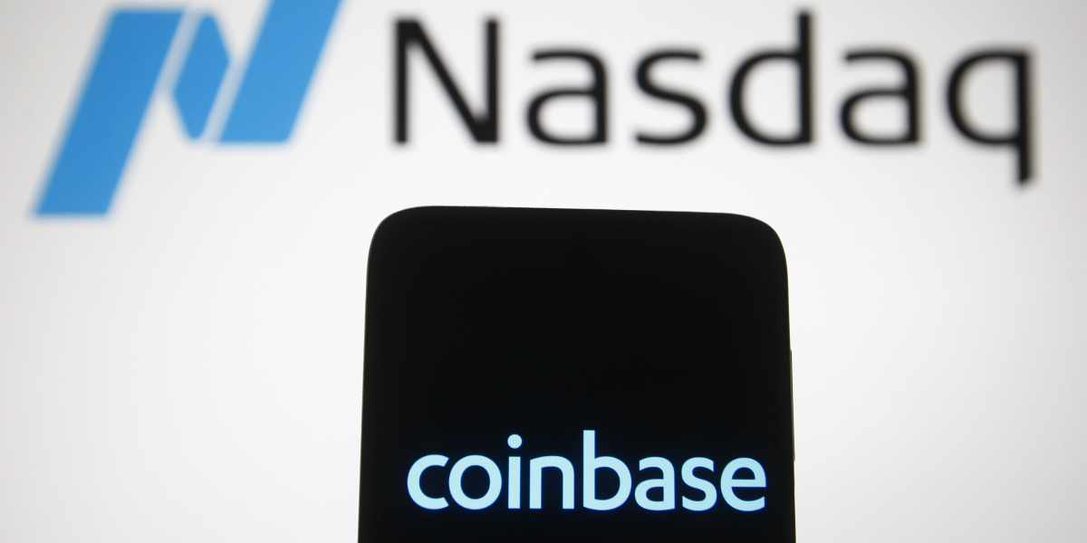 coinbase stock excitement effect