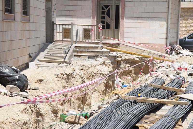 construction, nugra, residents, dangerous,