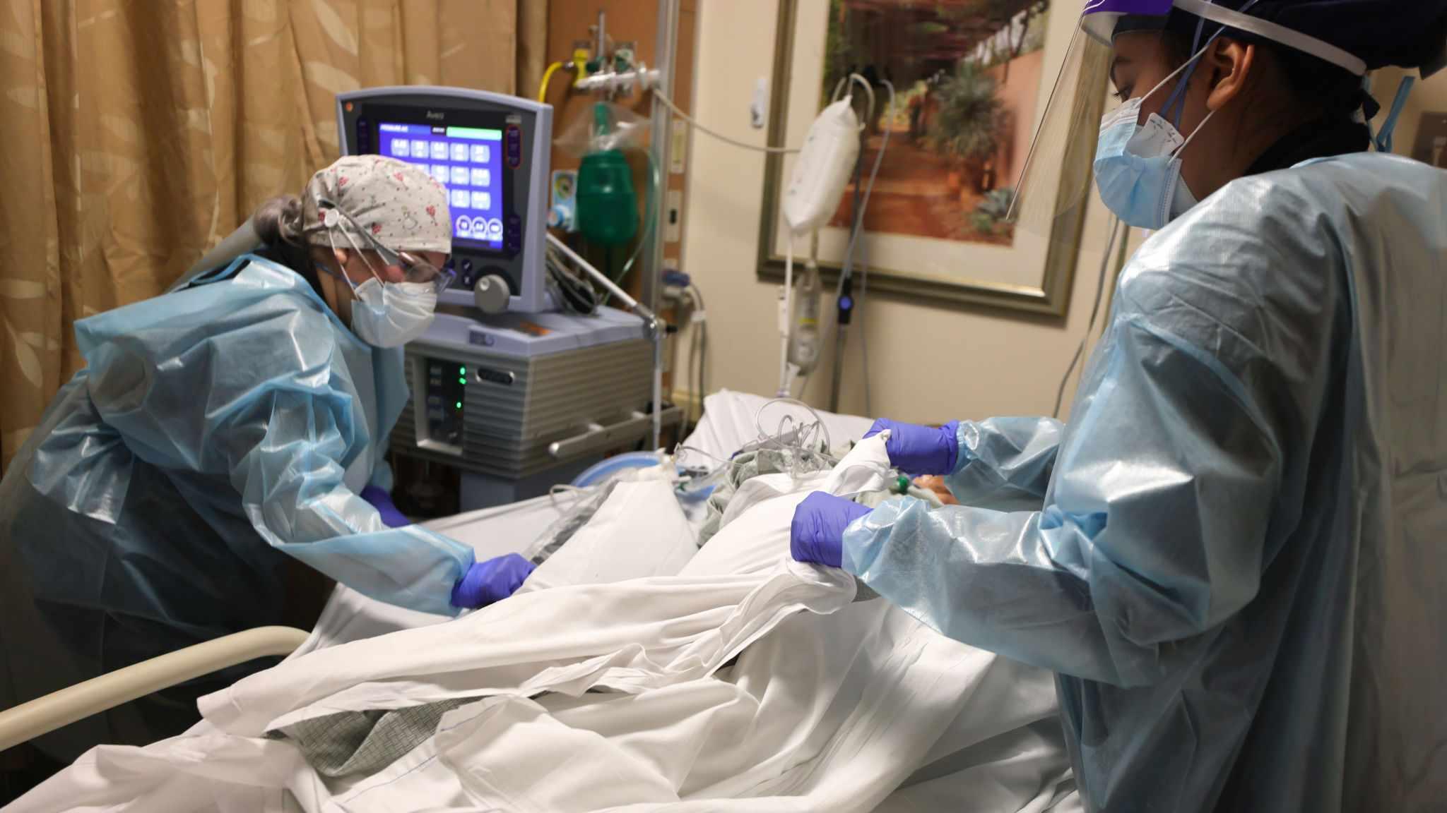 coronavirus california hospitalisations people covid