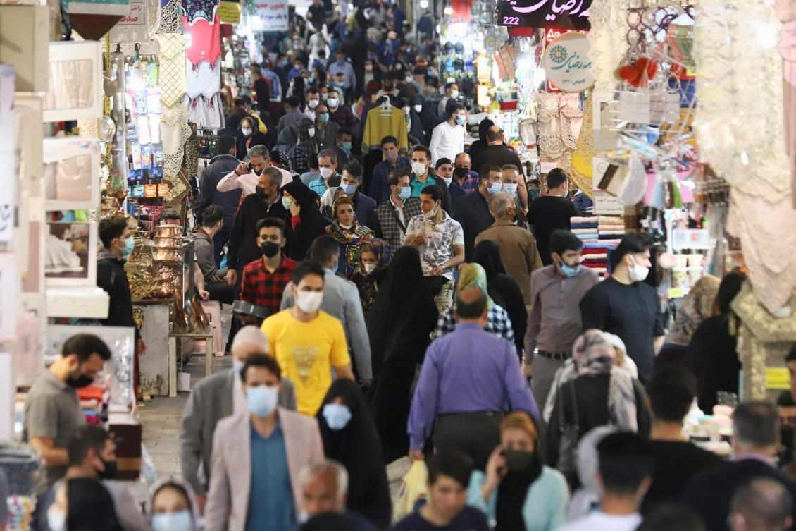 coronavirus iran record infections holiday