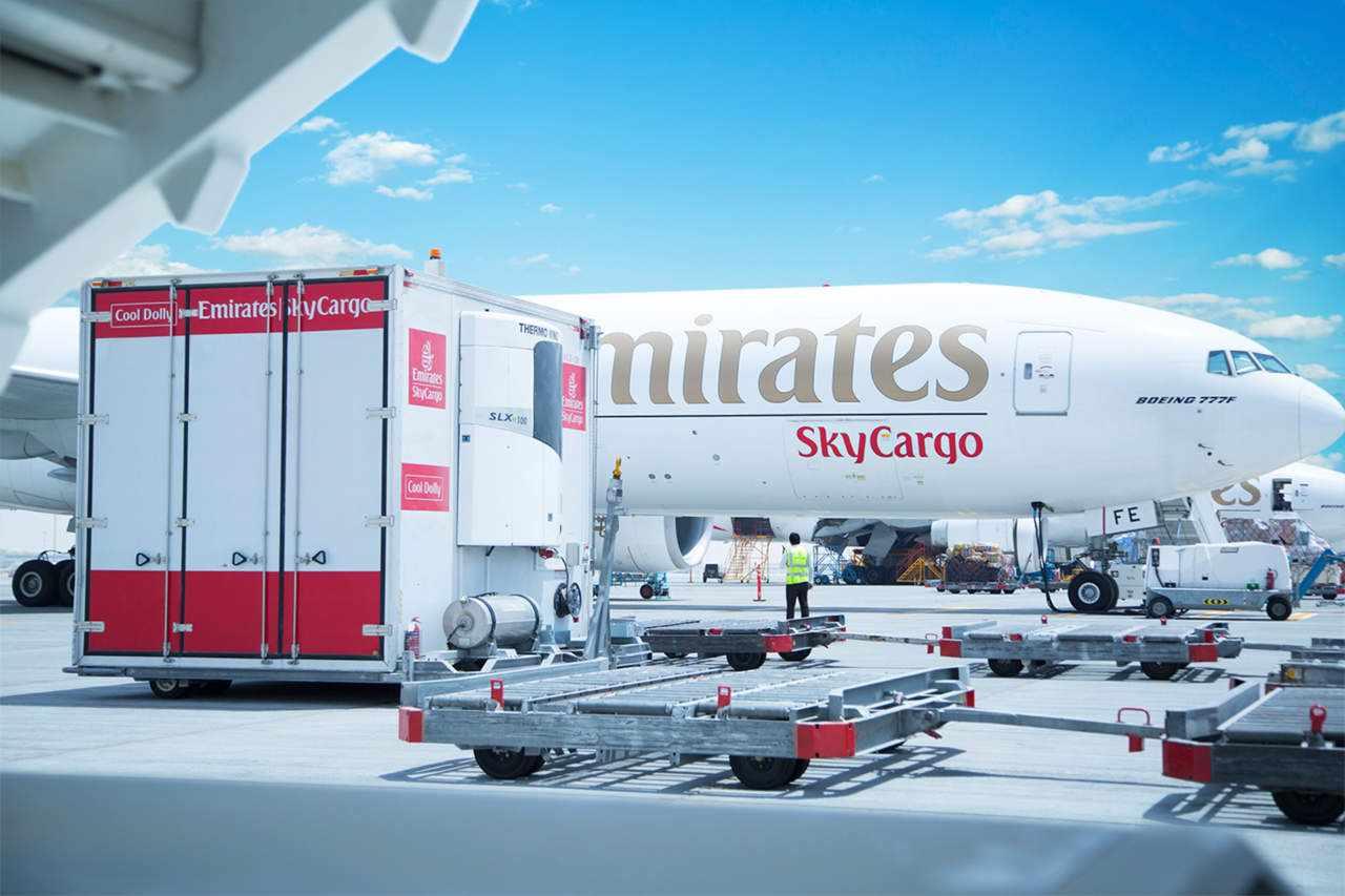 covid vaccines skycargo emirates unicef