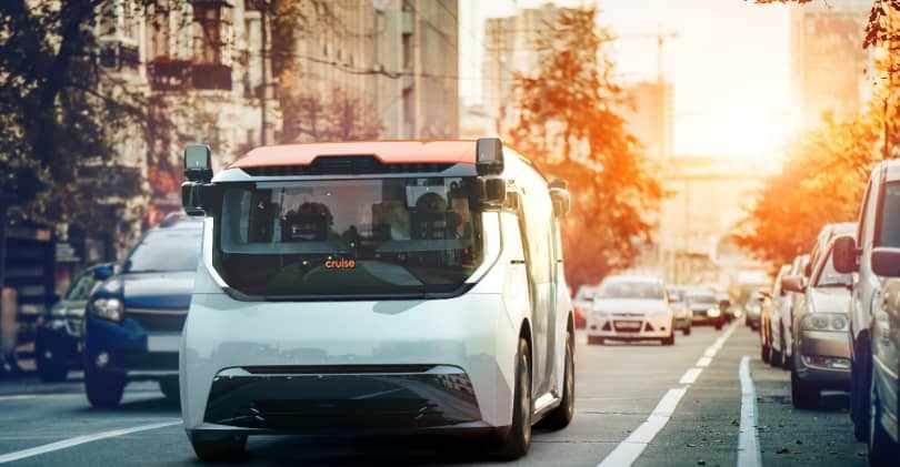 cruise vehicle production driverless origin