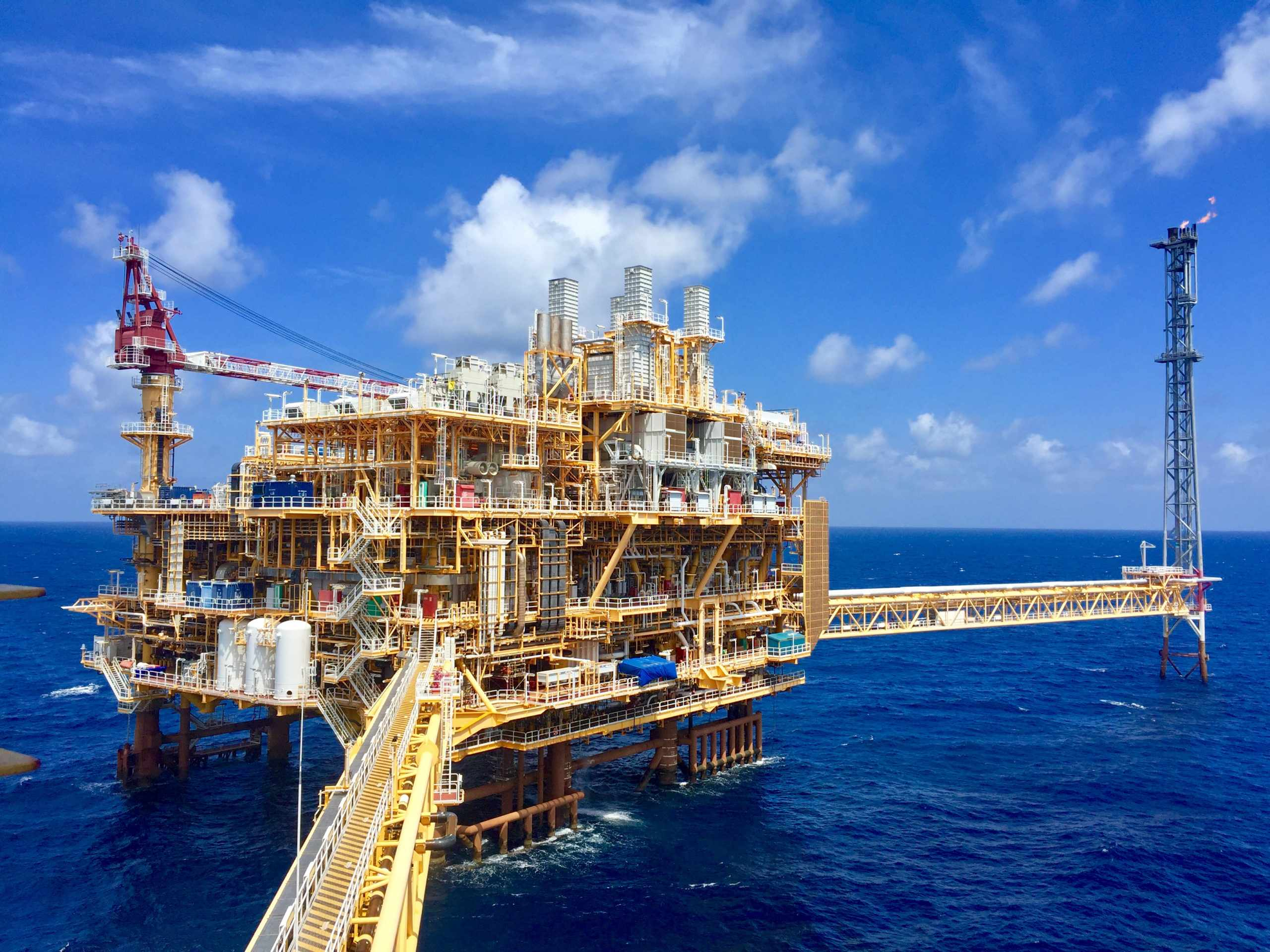 decommissioning offshore beacon claxton thailand