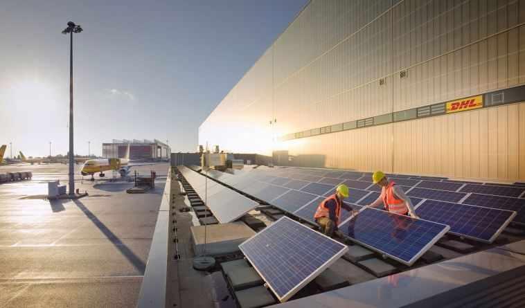 dhl, totalenergies, partner, develop, solar,