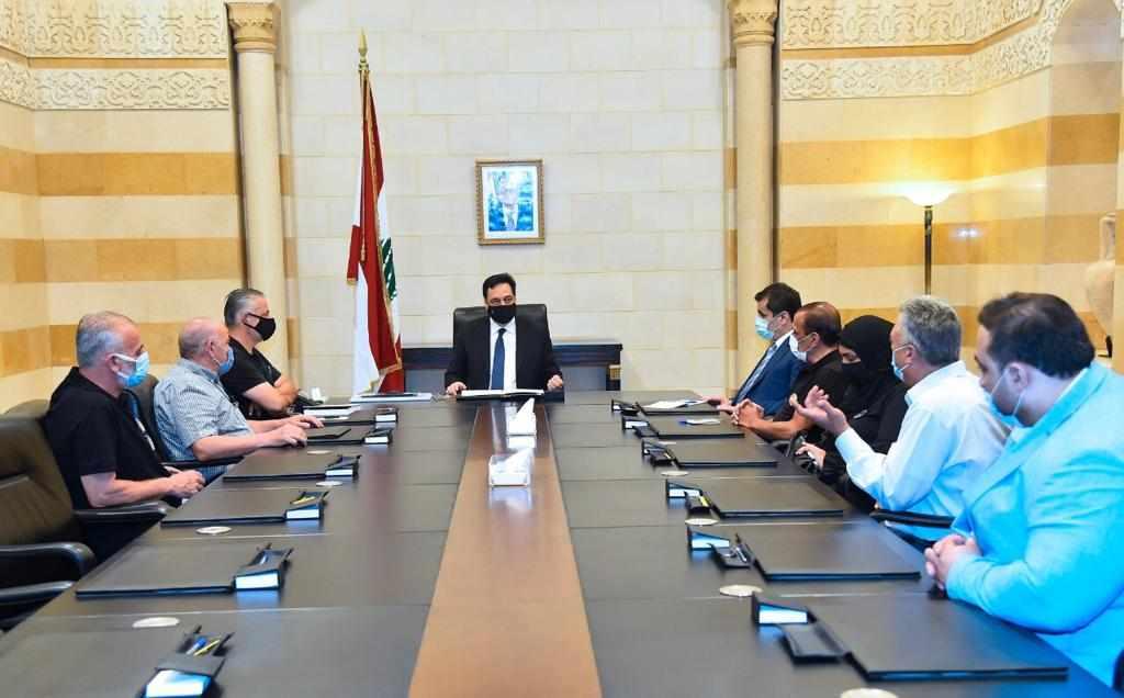 diab martyrs families delegation port