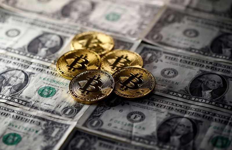 digital bitcoin oil gold ether