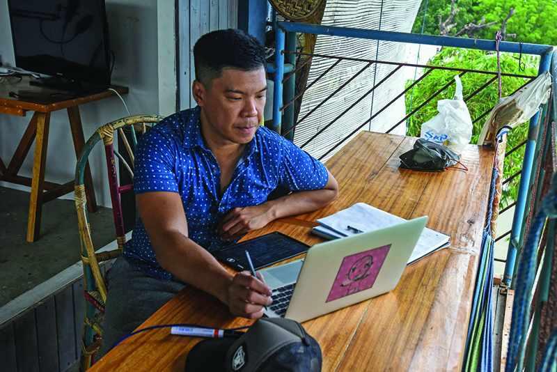 digital nomads hit manila flee