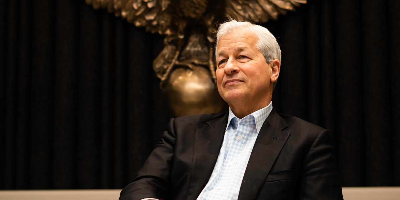 dimon jpmorgan jamie goldilocks economy