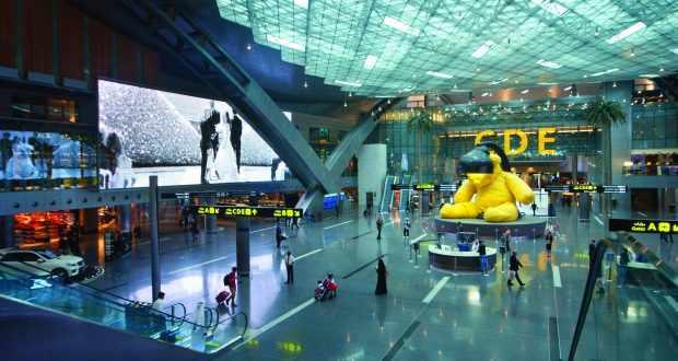 doha qatar women australian airport