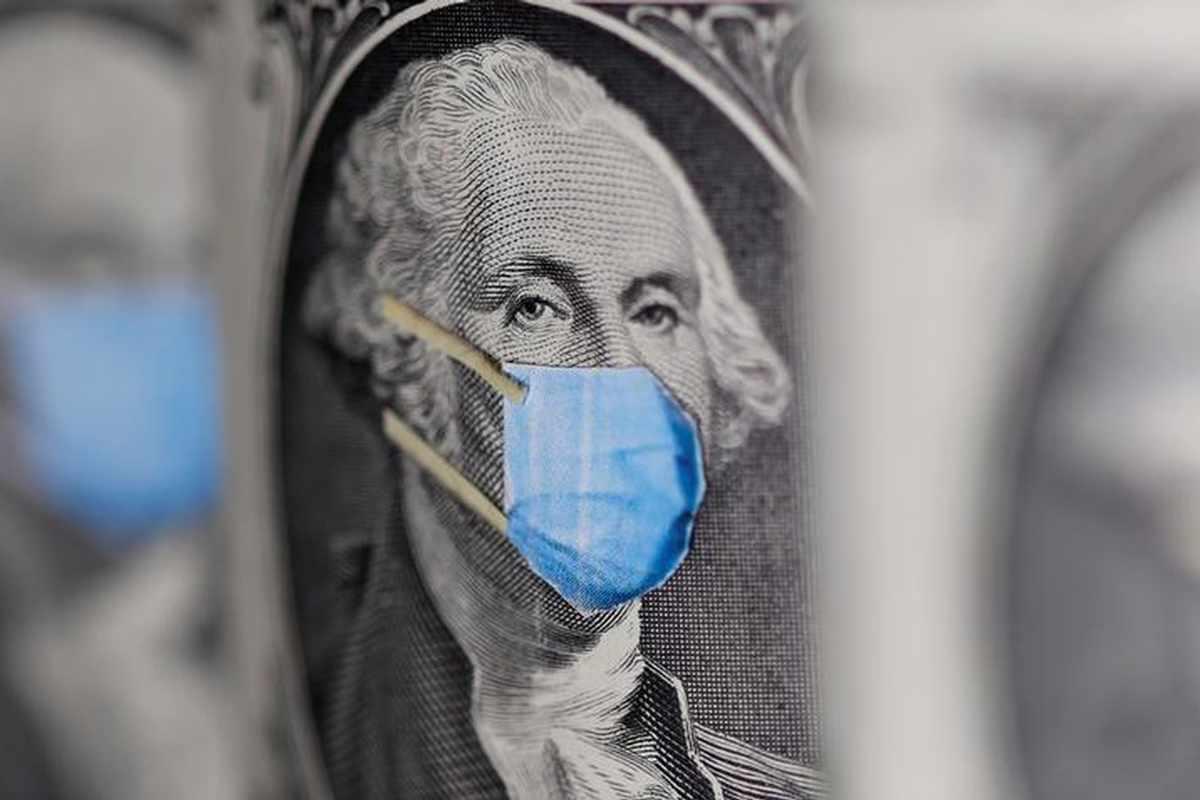 dollar ecb virus scare highs