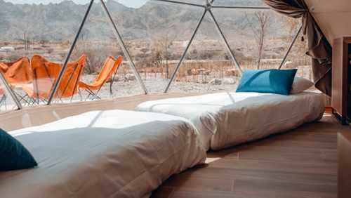dome hatta tents park glamping