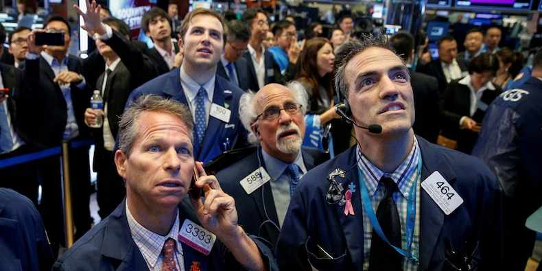 dow points straight gain focus