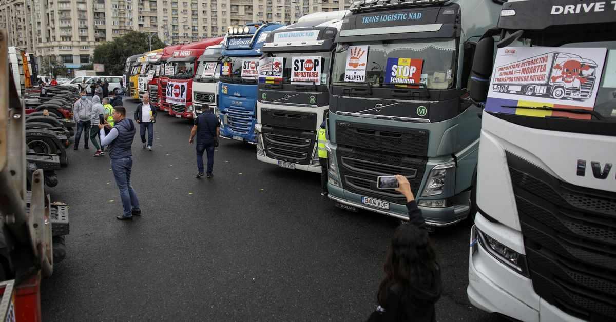 drivers, tax, romanian, nicolae, trucks,