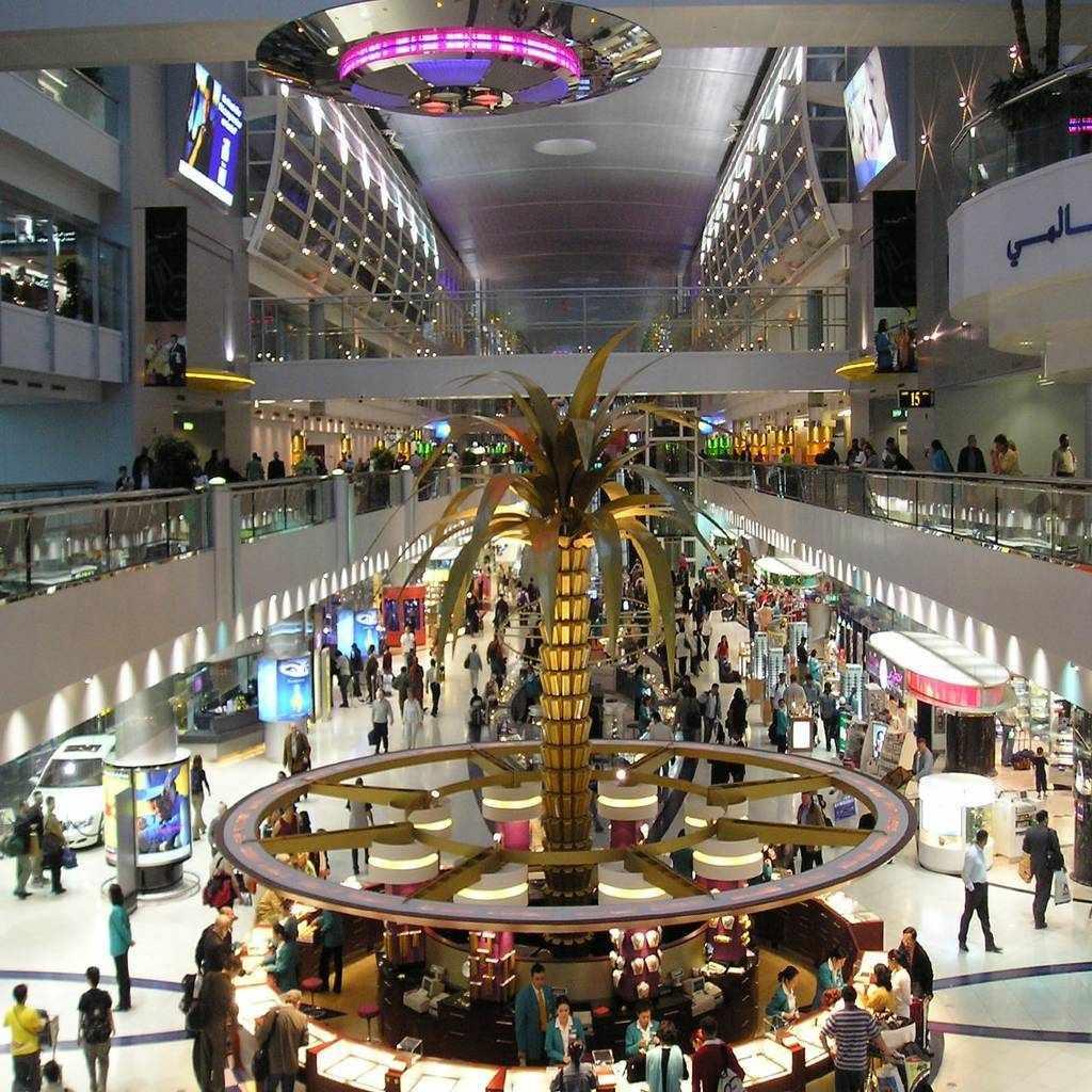 dubai airport october passengers compared