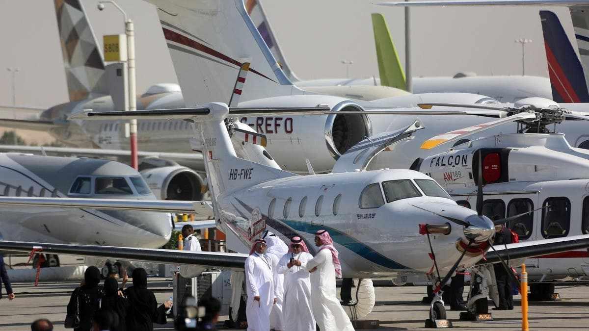dubai airshow capacity restrictions place
