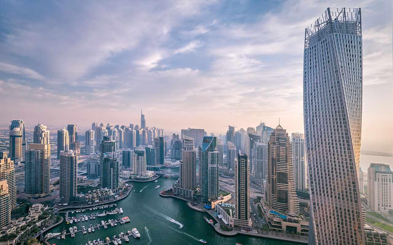 dubai average property sales prices