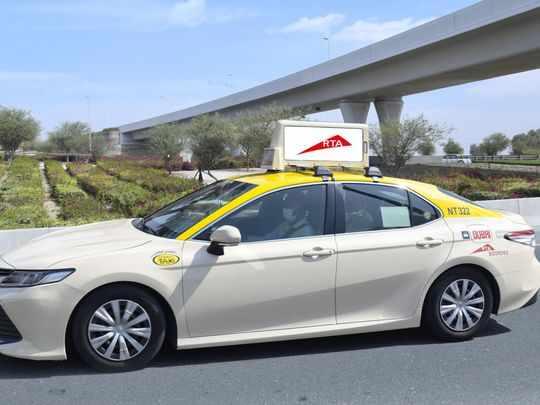 dubai billboards rta taxi