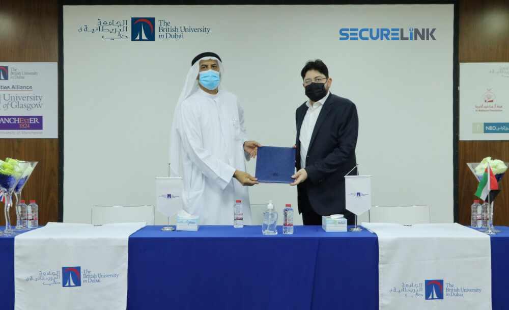 dubai british university securelink collaborates