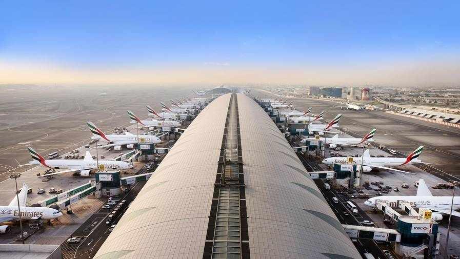 dubai covid airport virus