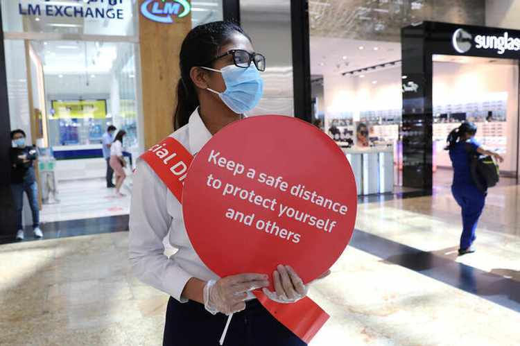 dubai covid attractions safety rules
