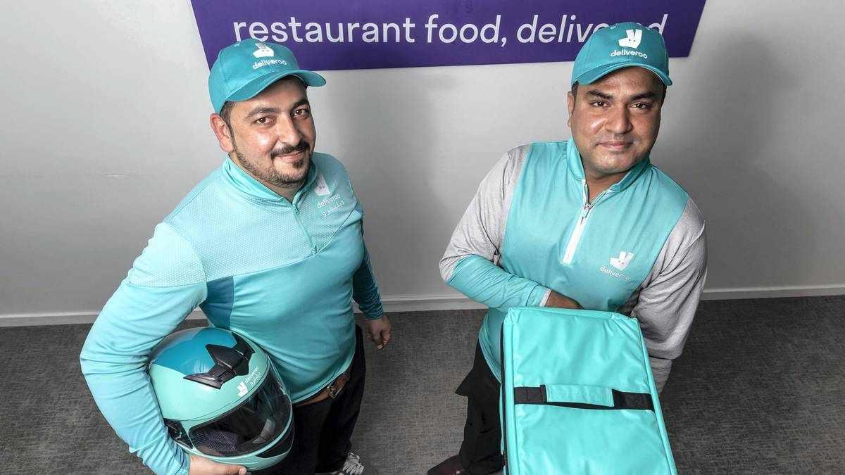 dubai deliveroo riders khurram thank