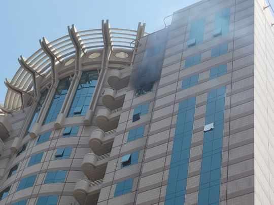 dubai fire tower apartment floor