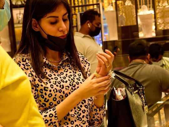 dubai gold gram shoppers
