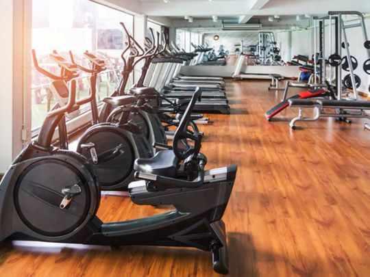 dubai gym vaccinated training persons
