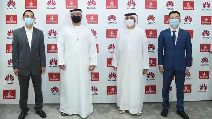 dubai huawei emirates relationship users